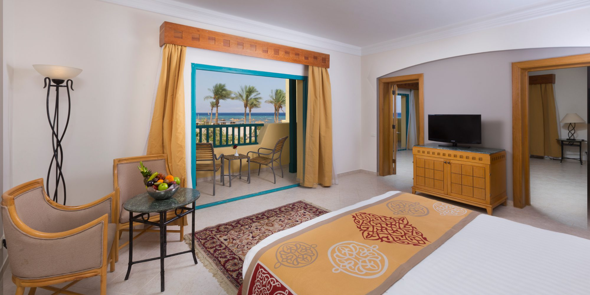 Bay View Resort Taba Heights Junior Suite Bedroom